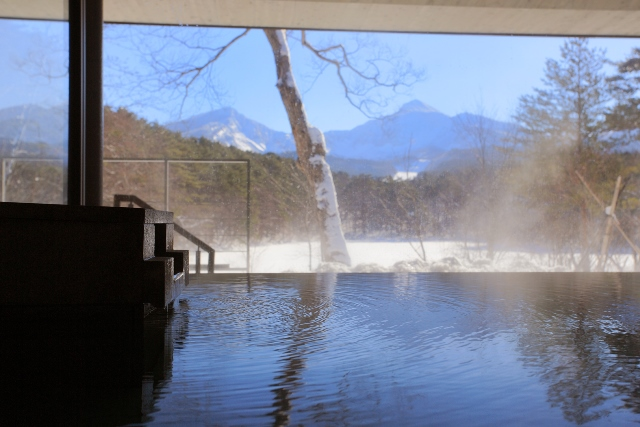 【HP限定】 白銀の裏磐梯 雪見露天風呂でゆったり過ごすお得な寛ぎプラン<磐梯山側客室タイプ>