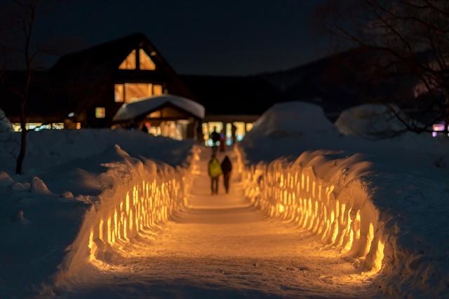 裏磐梯雪まつり2020